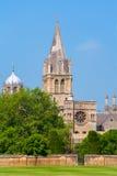 Собор церков Христоса. Оксфорд, Великобритания Стоковые Фото