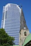 Собор церков Христоса anglican Монреаля Стоковые Изображения RF