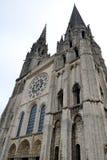 Собор Шартр, Франция Стоковое Изображение