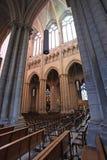 Собор Джина Святого внутрь, Лион Франция Стоковое Изображение RF