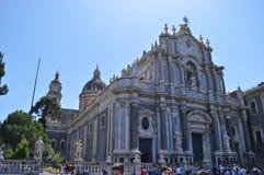 Собор Agata Святого в Катании стоковое фото