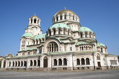 собор aleksandr nevsky Стоковая Фотография RF