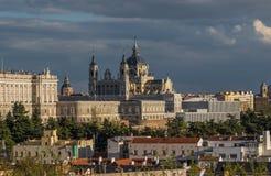 Собор Almudena, Мадрид Испания стоковые изображения rf