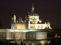 Собор Almudena, Мадрида, Испании Стоковое Фото