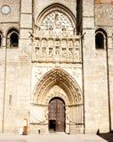 собор avila готский Стоковое Фото