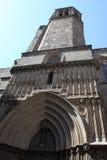 собор barcelona Стоковые Изображения