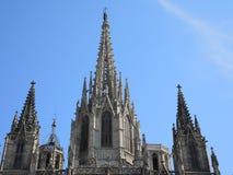 собор barcelona Стоковые Изображения RF