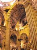 собор barcelona Стоковое фото RF
