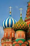 Собор Basil´s святой, красный квадрат, Москва, Россия Стоковое Фото