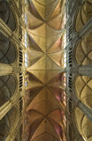 собор bourges свода готский Стоковые Фотографии RF