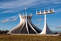 Собор brasilia Стоковые Фотографии RF