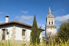 Собор Burgo de Osma Стоковые Изображения