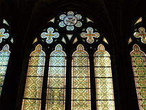 собор burgos внутрь Стоковое Изображение RF