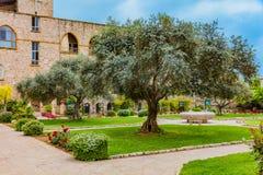Собор Byblos Jbeil Ливан St. John Марк Стоковая Фотография