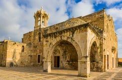 Собор Byblos Jbeil Ливан St. John Марк стоковое фото