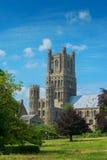 Собор Cambridgeshire Англия Ely Стоковые Изображения