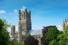 Собор Cambridgeshire Англия Ely Стоковое Изображение