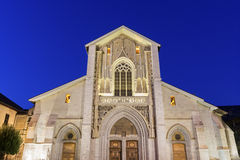 Собор Chambéry в Франции Стоковые Фотографии RF