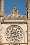 собор chartres готский Стоковое Фото