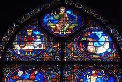 собор chartres Стоковое Изображение