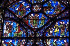 собор chartres Стоковая Фотография