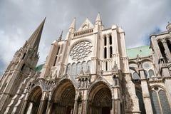 собор chartres Стоковая Фотография RF