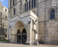 Собор Chichester Стоковое Изображение