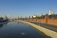 собор christ jesus kremlin moscow Стоковое Изображение RF