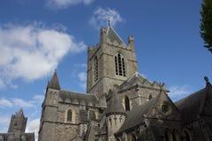 Собор Christchirch Дублина, Ирландии Стоковая Фотография