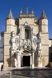 собор coimbra Португалия Стоковые Фото