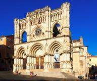 Собор Cuenca в Cuenca, Испании Стоковое Изображение RF