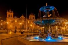 Собор Cusco Перу Стоковая Фотография