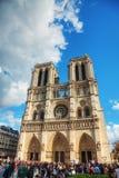 собор dame de notre paris Стоковое Изображение RF