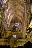 собор de leon maria santa Испания стоковая фотография rf