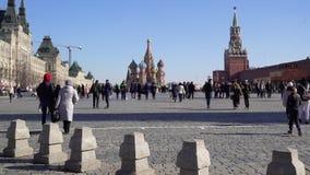 Собор de San Basilio Ла в Москве акции видеоматериалы