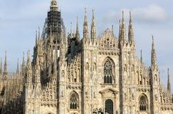 Собор 'Duomo', Милан, Италия Стоковое Фото