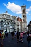Собор Duomo Флоренса Стоковые Фото