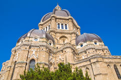 Собор Duomo Cerignola. Puglia. Италия. Стоковая Фотография RF