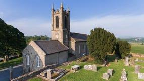 Собор Edan Святого папоротники co Wexford Ирландия стоковые изображения