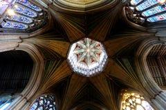 Собор Ely, восьмиугольник Стоковая Фотография RF