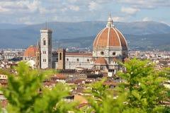 собор florence Италия Тоскана Стоковые Изображения