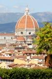 собор florence Италия Тоскана Стоковая Фотография RF