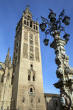 Собор Giralda - Севильи - Севилья - Испания Стоковые Изображения