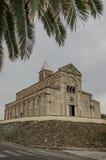 Собор Giusta Святого, Сардиния Стоковые Фото