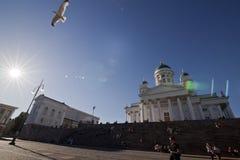 собор helsinki Стоковое Фото