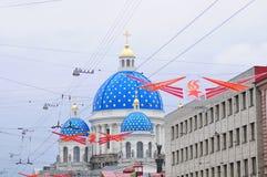 Собор Izmailovsky купола Стоковые Фотографии RF