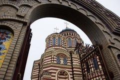 собор kharkov аннунциации стоковое фото