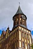Собор Koenigsberg - готический висок XIV века. Калининград, Россия Стоковые Фотографии RF
