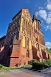 Собор Koenigsberg, готический XIV века Kaliningra Стоковые Фотографии RF