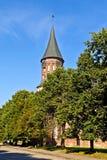 Собор Koenigsberg - готский XIV век. Калининград (до Koenigsberg 1946), Россия Стоковое фото RF